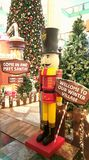 Santa Winter Village Images libres de droits