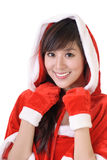 Santa woman Royalty Free Stock Photography