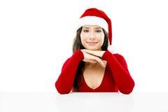 Santa Woman Fotografie Stock