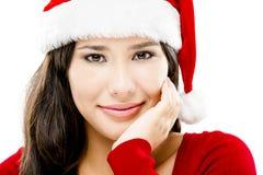 Santa Woman Immagine Stock Libera da Diritti