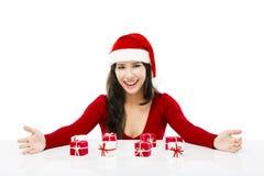 Santa Woman Fotografia de Stock