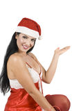 Santa woman   Stock Photography