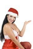 Santa woman   Stock Photography