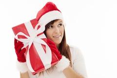 Santa woman Royalty Free Stock Images