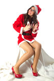 Santa Woman Stock Photos