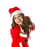 Santa Woman Stock Images