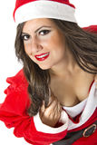 Santa Woman Stock Image