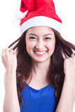 Santa Woman Royalty Free Stock Images