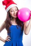 Santa Woman Royalty Free Stock Photo