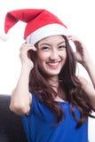 Santa Woman Royalty Free Stock Photography