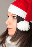 Santa women Royalty Free Stock Images