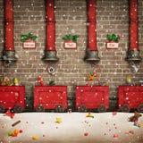 Santa Workshop Royalty Free Stock Photography