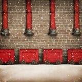 Santa Workshop Royalty Free Stock Photo