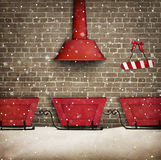 Santa Workshop Royalty Free Stock Images