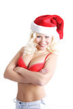 Santa wpr Zdjęcie Royalty Free
