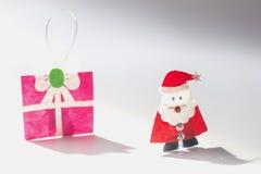 Santa& x27; s ein glücklichen Tag, Mary Christmas Stockbild