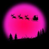 Santa Xmas Indicates Father Christmas y las Navidades Fotografía de archivo libre de regalías