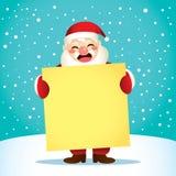Santa Yellow Poster Background illustration stock