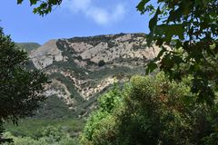 Santa Ynez Mountain in Süd-Kalifornien, 2 stockfoto