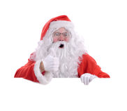 Santa you have been good Stock Photography