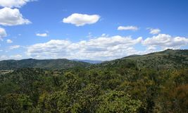 Santa Ysabel Panorama royalty free stock image