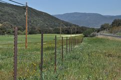 Santa Ysabel Valley Royalty Free Stock Image