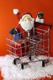 Santa zakupów Zdjęcia Stock