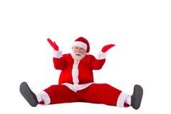 Santa zmieszany Zdjęcia Stock
