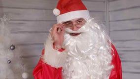 Santa znaki kamera Zdjęcie Royalty Free