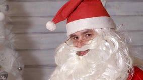 Santa znaki kamera Obraz Stock
