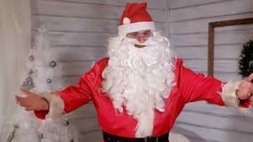 Santa znaki kamera Fotografia Stock