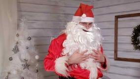 Santa znaki kamera Zdjęcia Stock