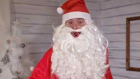 Santa znaki kamera Obraz Royalty Free