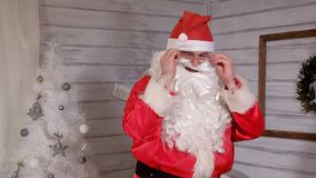 Santa znaki kamera Zdjęcia Royalty Free