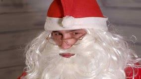 Santa znaki kamera Fotografia Royalty Free