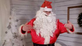 Santa znaki kamera Obrazy Royalty Free