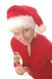 Santa1 stockfoto