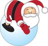 Santa3 vector illustration