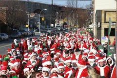 SantaCon em New York Imagens de Stock Royalty Free