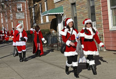 SantaCon in New York Stock Photography