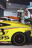 SANTAGATA, ITALIË - MAART 2017 Lamborghini-Museum Royalty-vrije Stock Afbeelding