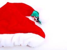 Santahat. Generic Santa Hat for Christmas Celebrations Stock Images