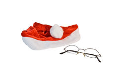 Santahat with glasses Stock Photo