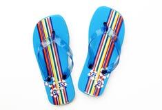 Santals bleus de bascule électronique d'été Images libres de droits