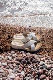 Santals de plage Photo stock