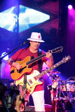 Карлос Santana на путешествии - путешествии 2016 светимости Стоковые Фото