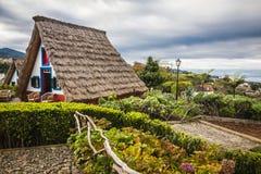 Santana city in Madeira Royalty Free Stock Photos