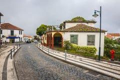 Santana city in Madeira Stock Photo