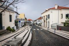 Santana city in Madeira Royalty Free Stock Image