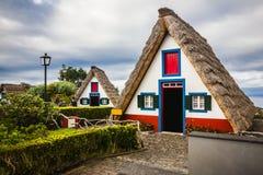 Santana city in Madeira Stock Images